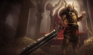 Viking Tryndamere Skin