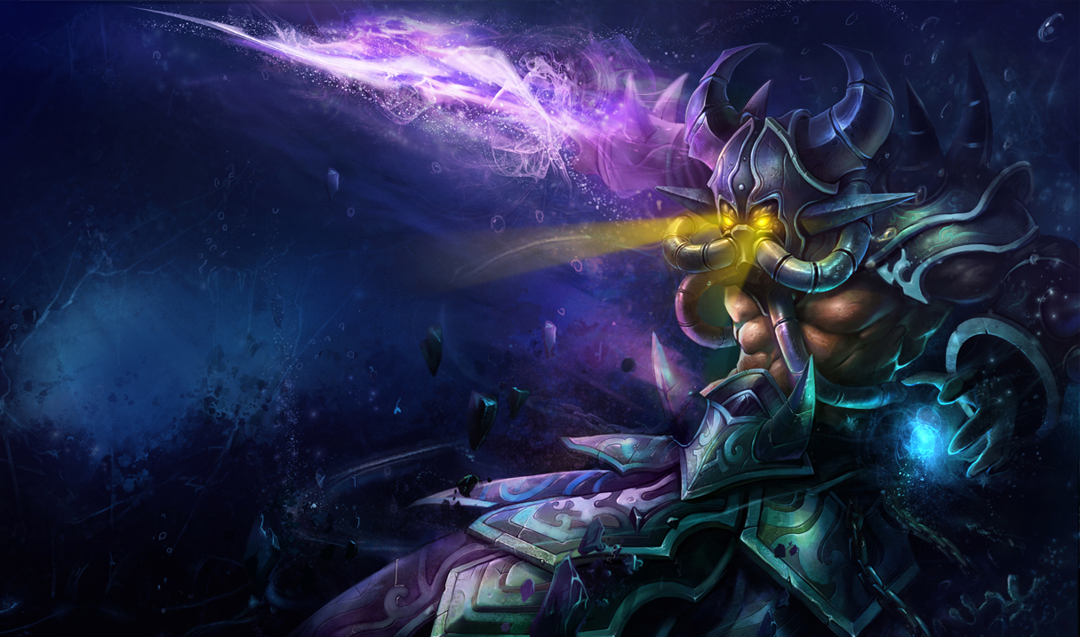 Deep One Kassadin Skin - Chinese - League of Legends Wallpapers Orianna Splash Art