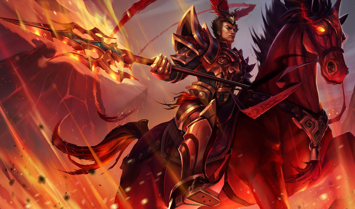 Warring Kingdoms Jarvan Skin