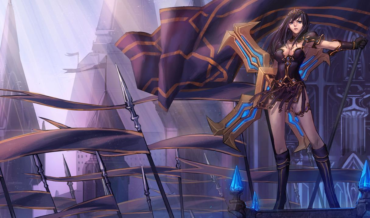 Warrior Princess Sivir - Chinese (2)