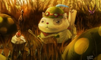 Who Fed Teemo fanart by Beanbean1988