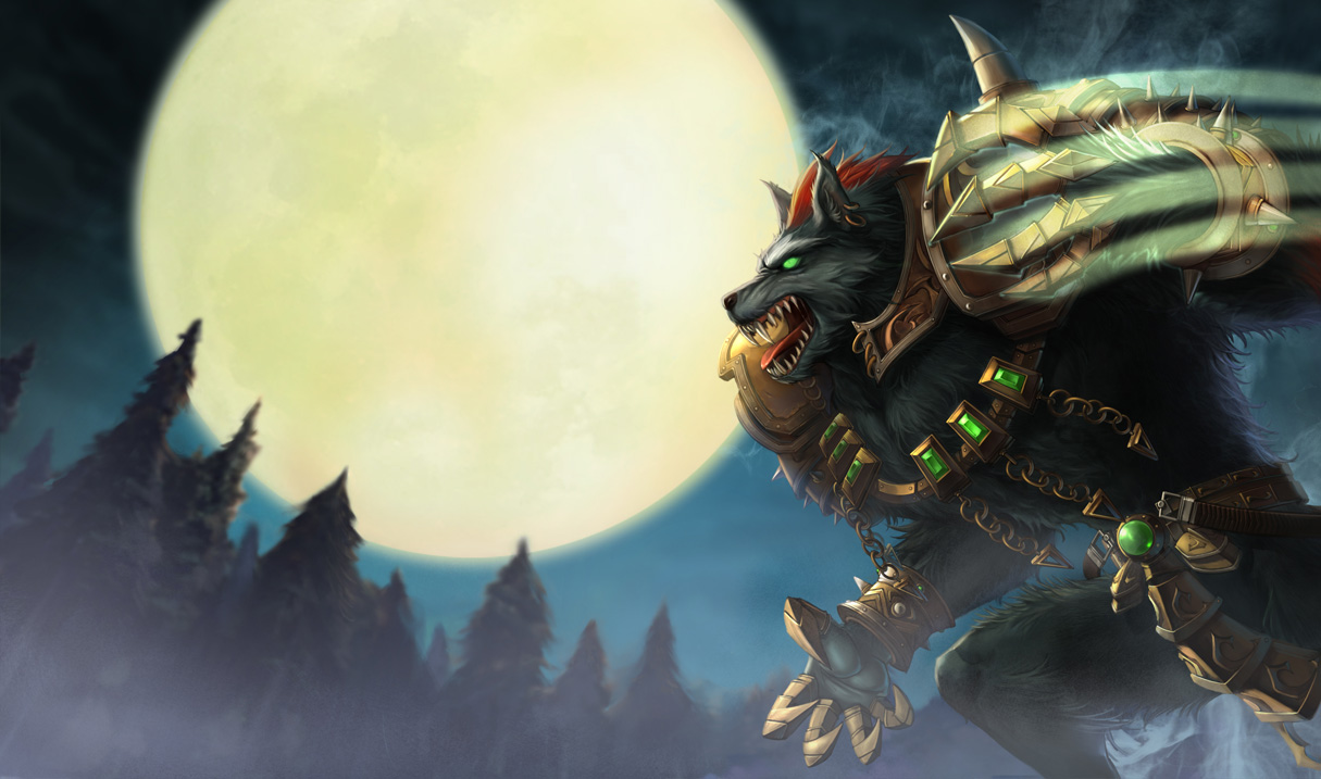Grey Warwick Skin - Updated