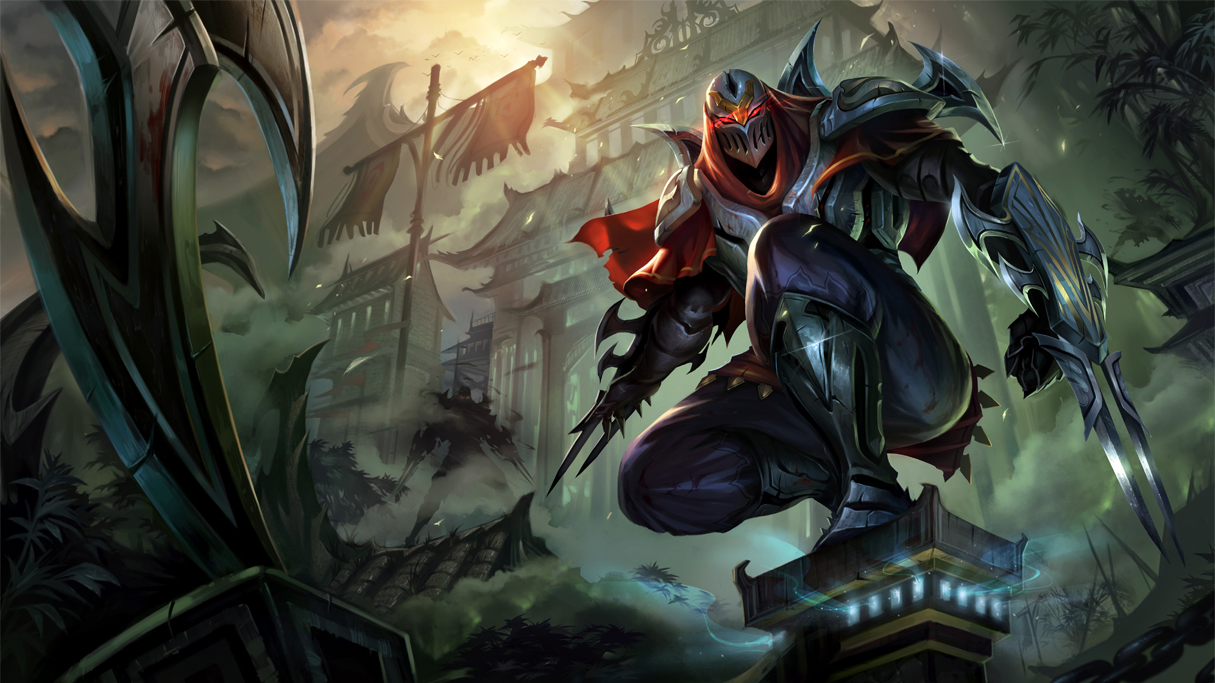 zed league of legends wallpapers