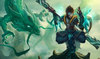 Jade Dragon Wukong Skin (Original)