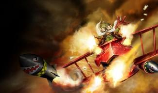Red Baron Corki - Chinese