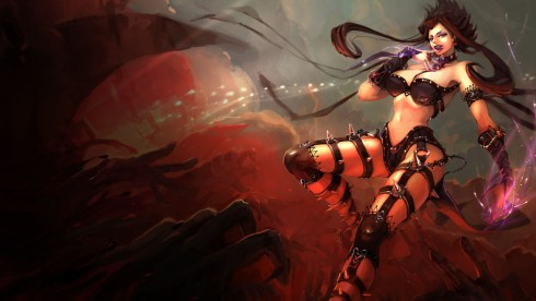 Shadow Evelynn Skin - Chinese