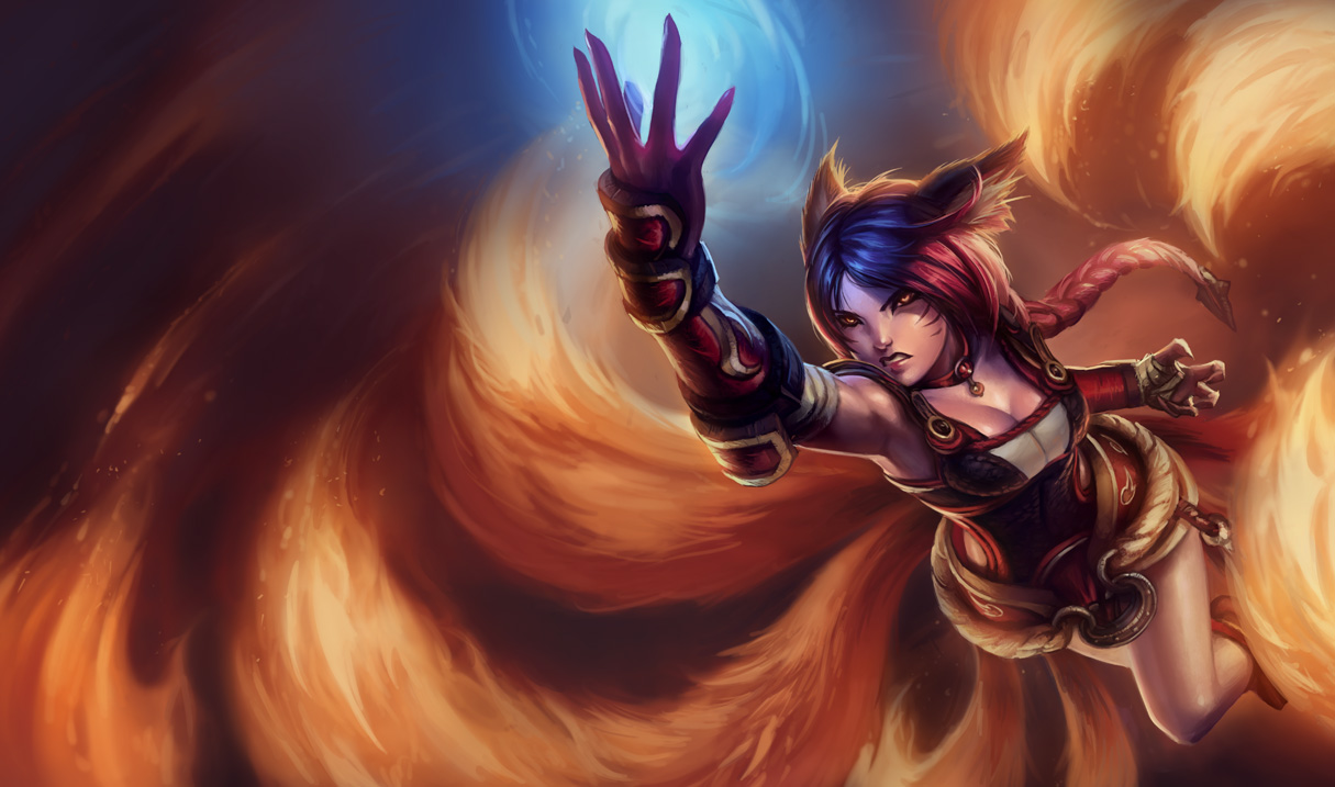 Firefox Ahri Splash