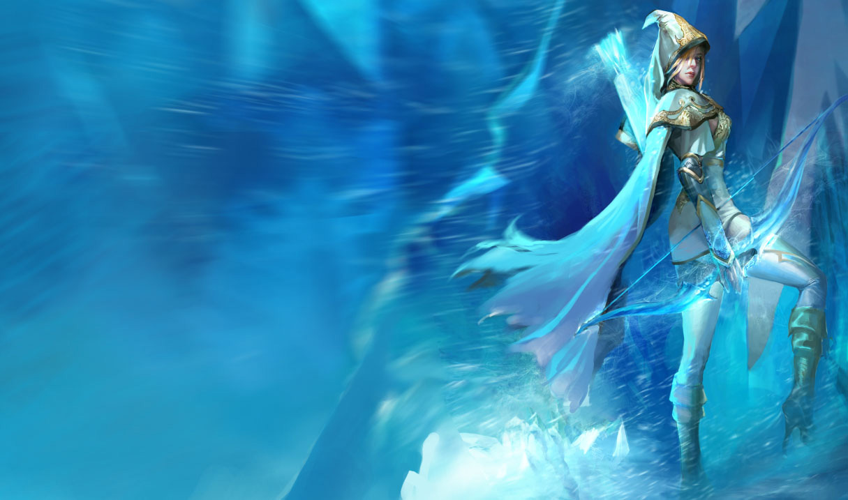 Ashe League Of Legends Wallpapers