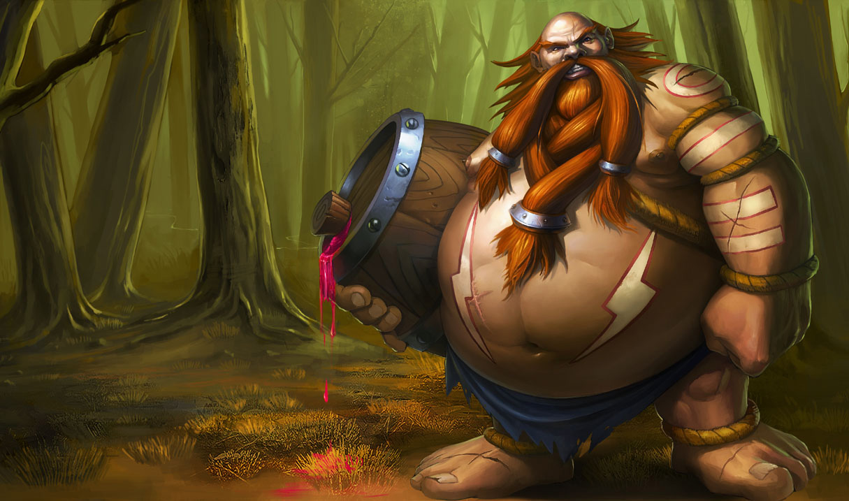 Gragas Classic Skin - Chinese