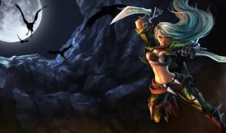 Mercenary Katarina Skin - Chinese