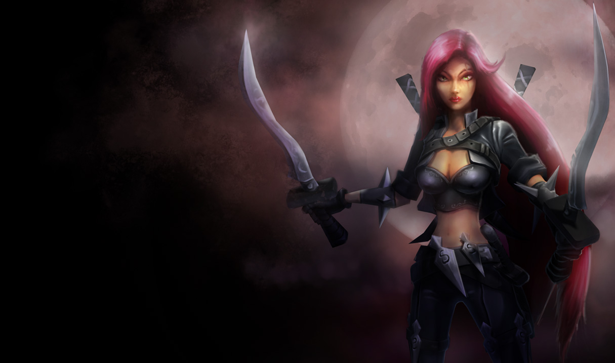 The first artwork of Katarina's classic skin, later updated several ... Orianna Splash Art