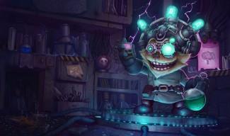 Mad Scientist Ziggs Skin (2)