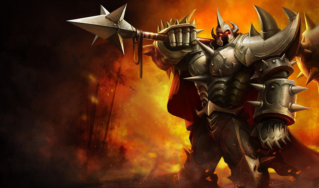 Mordekaiser league of legends wallpapers mordekaiser classic skin voltagebd Images
