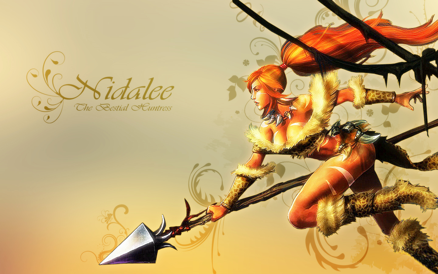 Nidalee wallpaper by k4tee