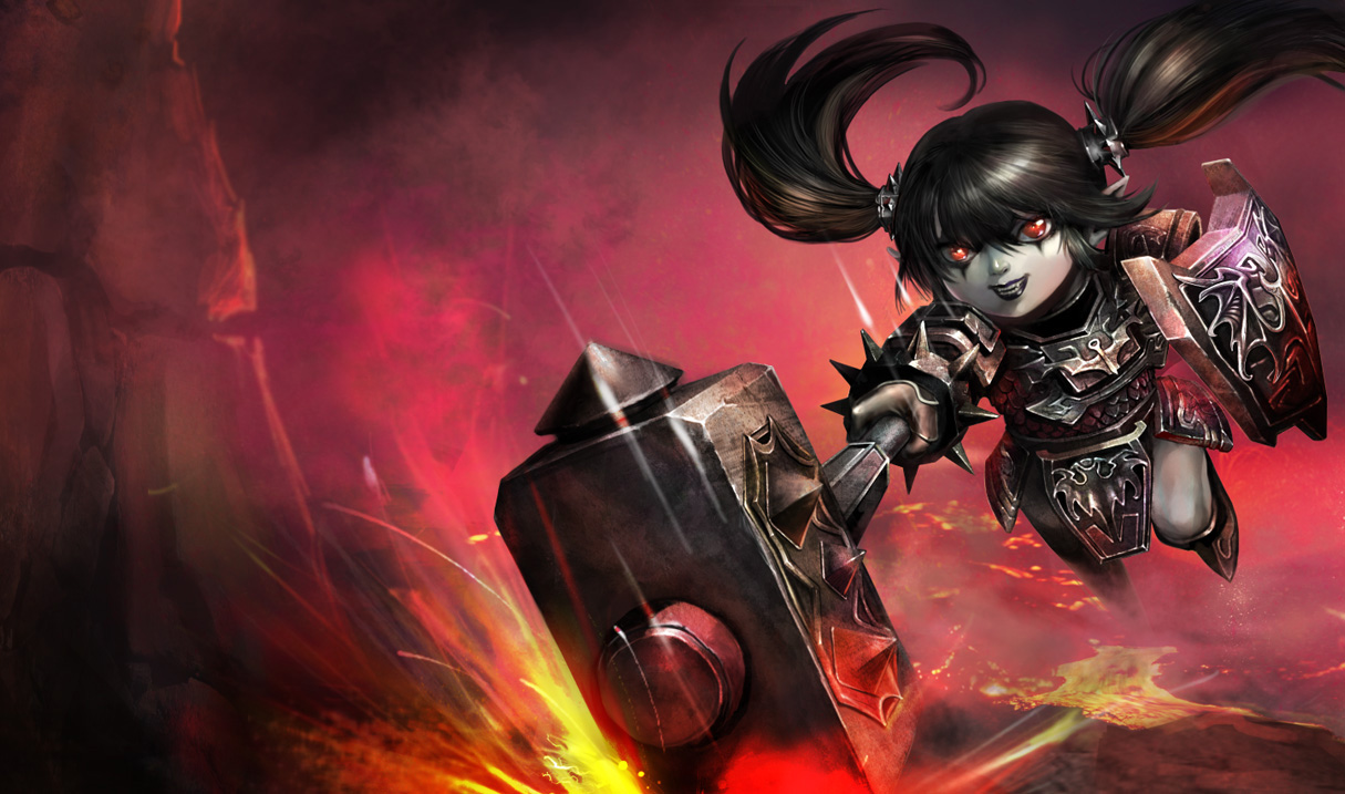 Noxus Poppy Skin League Of Legends Wallpapers
