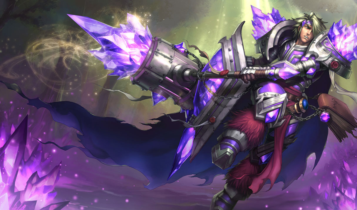 Armor Of The Fifth Age Taric Skin - Chinese - League of Legends Wallpapers