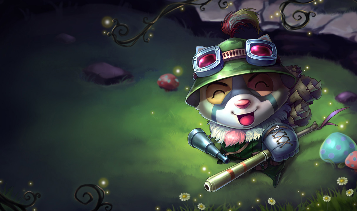 Recon Teemo - Chinese Artwork