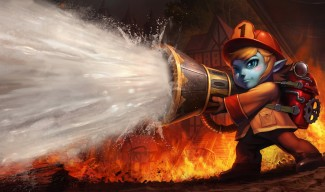 Firefighter Tristana Skin - Chinese