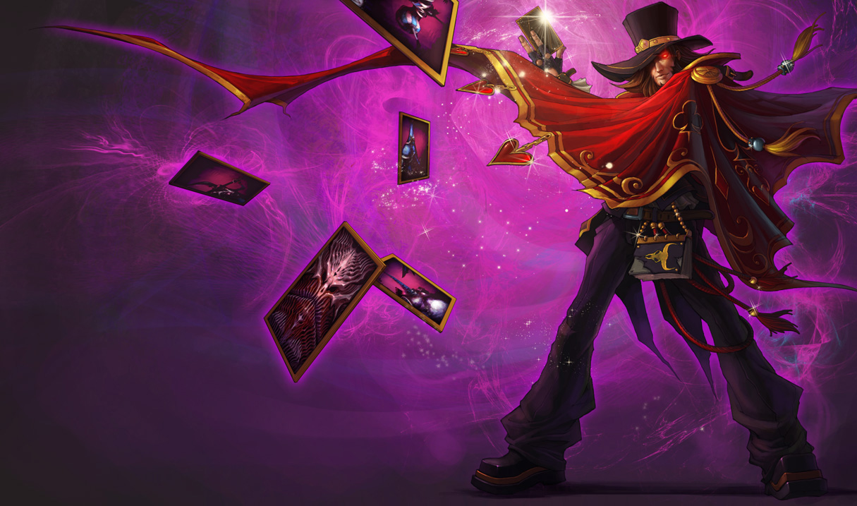 Magnificent Twisted Fate Skin - Chinese